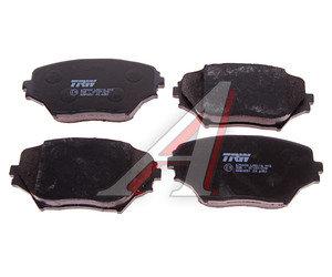 Колодки тормозные TOYOTA Rav 4 (00-) передние (4шт.) TRW GDB3251, 04465-42110/04465-42130/04465-42071/04465-42080