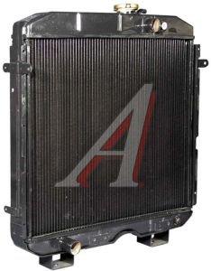 Радиатор ПАЗ-32053,4230,4234 медный 3-х рядный дв.ММЗ ШААЗ 3205-1301010-01, 3205-1301010