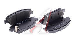 Колодки тормозные KIA Optima (11-) передние (4шт.) HSB HP1044, 58101-2TA00