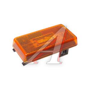 Фонарь габаритный SCANIA 4 series желтый светодиодный (патрон овальный) DIESEL TECHNIC 1.21455, 098221230, 2080828