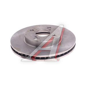 Диск тормозной TOYOTA Corolla E12 (02-) передний (1шт.) FEBI 26185, DF4403, 43512-02060