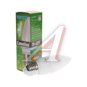 Лампа светодиодная E27 С35 6.5W (60W) холодный CAMELION Camelion LED6.5-C35/845/E27, 11907