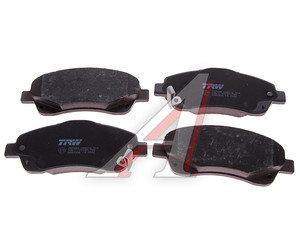Колодки тормозные TOYOTA Avensis (03-) передние (4шт.) TRW GDB3336, 04465-05270