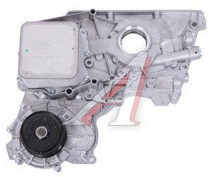 Крышка двигателя ГАЗ-3302 дв.CUMMINS ISF 2.8 перед. с охладит., вод.и маслян. насосом СБ ЕВРО-3 OE 5273772/5270239/5271533, 5302884