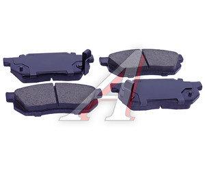 Колодки тормозные HONDA Civic (-89) передние (4шт.) SANGSIN SP1462, GDB358