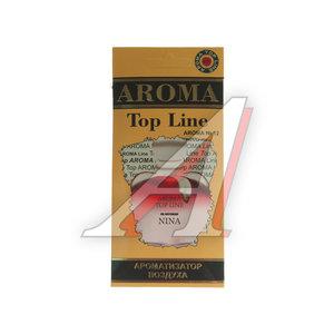 Ароматизатор подвесной пластина (№12 Nina Ricci Nina) TOP LINE TOP LINE №12 Nina Ricci Nina