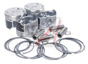 Поршень двигателя ЗМЗ-405 d=96.0 (с пальцем,поршн.и ст. кольцами) спец.покрытие 1шт. ЗМЗ 405.1004018-100АР, 405.1004018-102-АР