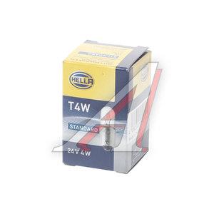 Лампа 24V T4W BA9s HELLA 8GP002067241, O-3930, 1987302512