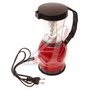 Фонарь 19-24 светодиода кемпенговый аккумуляторный 2 режима 220V 24см CAMELION C-29318