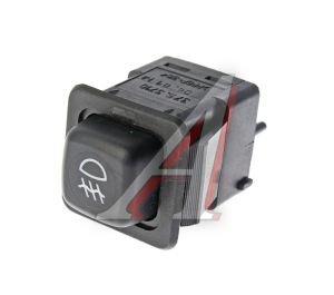 Выключатель кнопка ВАЗ-08,М-41 противотуманных фар АВАР 375.3710-04.01 12V, 375.3710-04.01М