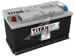 Аккумулятор ТИТАН Euro Silver 110А/ч 6СТ110, 4607008881462