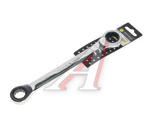 Ключ накидной 17х19мм трещоточный с держателем ЭВРИКА ER-71719H