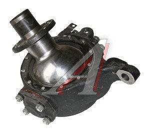 Кулак поворотный УРАЛ правый (опора шар. 12 отверстий) в сборе с 2003г. (ОАО АЗ УРАЛ) 6361-2304010