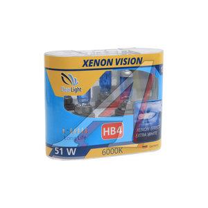 Лампа 12V HB4 55W P22d бокс (2шт.) Xenon Vision CLEARLIGHT ML9006XV