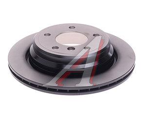 Диск тормозной BMW 5 (E39) (96-) задний (1шт.) TRW DF2783, 34216767060