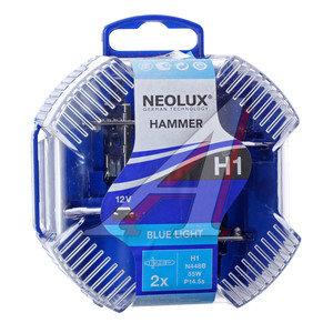 Лампа 12V H1 55W P14.5s 4000K бокс (2шт.) Blue Light NEOLUX N448B, NL-448B2, А12-55(Н1)