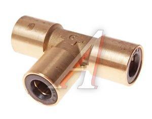 Соединитель трубки ПВХ,полиамид d=10мм тройник латунь CAMOZZI PUT10, 9540 10, 893 861 440 0