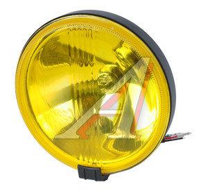 Фара дальнего света 12V d=185мм с крышкой желтая 1шт. SIRIUS NS-100Y