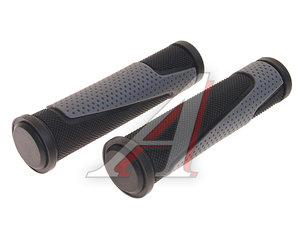 Грипсы 130мм резина черно-серые ZTB17720