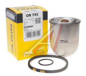 Фильтр масляный RENAULT Magnum,Premium центрифуга (втулки 14мм, 16мм) FILTRON OR745, OZ1D/P550286/624204/F026407059/Z10D64/50013635, 5001846546/5001858000/5000670735/5000670737