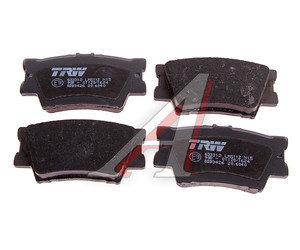 Колодки тормозные TOYOTA Rav 4 (2.0/2.2),Camry V40 (06-) задние (4шт.) TRW GDB3426, 0446642060/0446633160/04466-42060/044