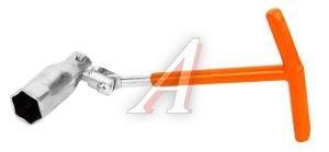 Ключ свечной карданный 21мм SPARTA 138405