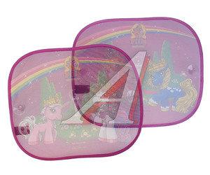 """Шторка автомобильная для боковых стекол 44х36см на присоске """"Лошадки Филли"""" 2шт. DISNEY FISAA010"""