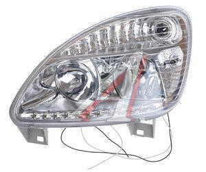 Фара блок ГАЗ-3302,2217,33104 левая Н/О (пластиковый рассеиватель) светодиод 1502.3775 GZL, 1502.3775, 1502.3775000