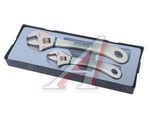 Набор ключей разводных 200-300мм (Т5023) 2 предмета FORCE F-T5023