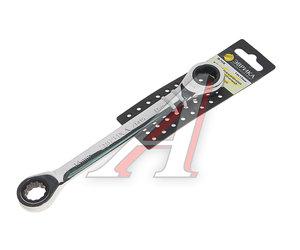 Ключ накидной 14х15мм трещоточный с держателем ЭВРИКА ER-71415H