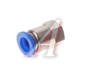 Соединитель трубки ПВХ,полиамид d=8мм (внутренняя резьба) М10х1прямой PCF M10x1 d=8, АТ-0721/АТ10721