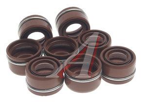 Колпачок ЯМЗ маслоотражательный комплект 8шт. Viton CAVETTO 236-1007262