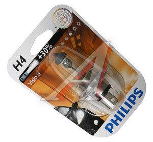 Лампа 12V H4 60/55W +30% P43t-38 блистер (1шт.) Premium PHILIPS 12342PRB1, P-12342PRбл, 8711500490995