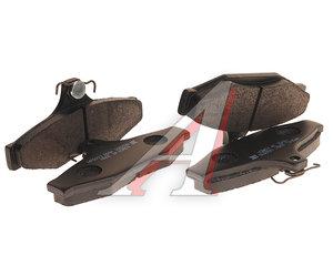 Колодки тормозные SSANGYONG Korando задние (4шт.) HSB HP5003, 48413050A0
