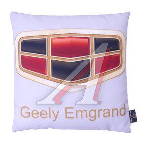 Подушка автомобильная GEELY EMGRAND (35х35см) антистрессовая серая MAGIC BALLS CK-00175