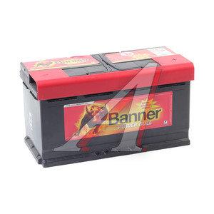 Аккумулятор BANNER Power Bull 100А/ч обратная полярность 6СТ100 P100 44, 83402