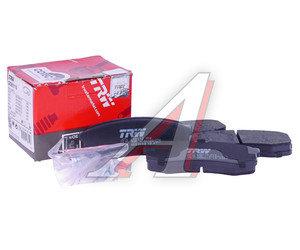 Колодки тормозные MITSUBISHI Pajero (07-) задние (4шт.) TRW GDB3110, GDB3110/GDB 3110S, 4605A458
