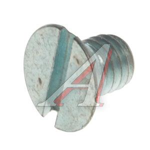 Винт М6х1.0х8 потай под шлиц DIN963