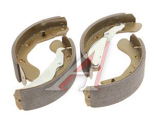 Колодки тормозные CHEVROLET Lacetti (04-) задние барабанные (4шт.) KORTEX KS021STD, GS8543, 96226110