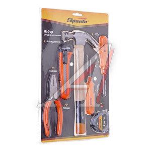 Набор инструментов 6 предметов слесарно-монтажный бытовой SPARTA 13540