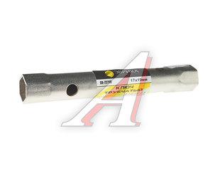 Ключ трубчатый 17х19мм ЭВРИКА ER-72719