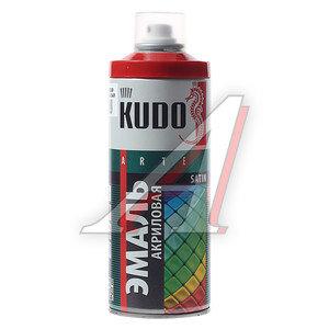 Краска красная огненно акриловая satinRAL3000 520мл KUDO KUDO KU-0А3000, KU-0A3000