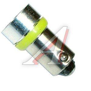 Лампа светодиодная 12V T20W +50% BA9s Yellow MEGAPOWER 50422Y, M-50422Y