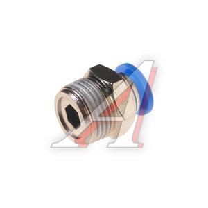 """Фитинг для пластиковых трубок 3/8"""" 8мм с наружной резьбой ROCK FORCE RF-SPC08-03"""