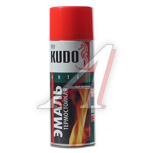 Краска термостойкая красная 520мл KUDO KUDO KU-5005, KU-5005