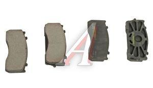 Колодки тормозные ГАЗ-3310 Валдай передние/задние в упаковке (4шт.) G-PART (ОАО ГАЗ) 3310-3501800-03