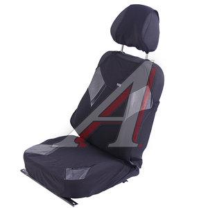 Авточехлы (майка) на передние сиденья черно-серые (2 предм.) Viper Glossy Front H&R 21366, 21366 H&R