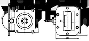 Коробка ГАЗ-САЗ-4509 отбора мощности КПП 5-ст. под НШ самосвал короткий шток ТЕХНОПОЛИС 4509-4202010-10