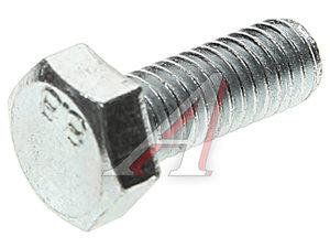 Болт М6х1.0х16 шестигранный оцинкованный DIN933