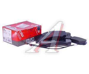 Колодки тормозные RENAULT Master (05-10) передние (4шт.) TRW GDB1609, 5001844747